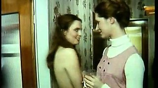 Vintage Stockings MILFS Threesome Leads to Foursome with DP