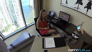 Dirty Flix - Lunch break secretary fuck