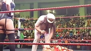 Rebel Wrestler vs Indan Police