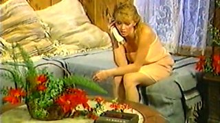 Insatiable and passionate vintage blondie fucked on the floor