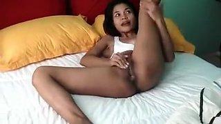 Best Homemade video with Filipina, Masturbation scenes
