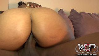 Hot Ebony takes Big Dick