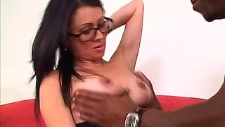 Liz and Ana love showing off their cock riding skills