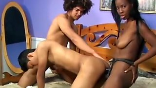 Hot Black and Latino Bisexual Porn