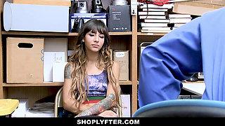 ShopLyfter - Security Guard Fucks Hot Latina