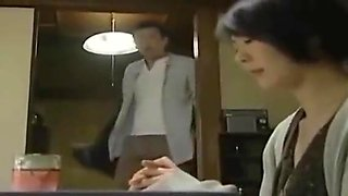 Japanese Love Story - Wife Cheating with Husband Little Brother