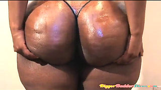 Super Phoenix Shakes and shows off her nice black bbw ass