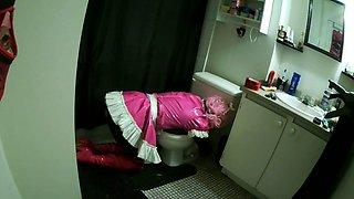 Sissy sluts toilet trouble