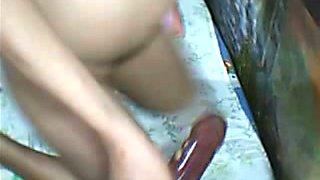 Outstanding hardcore webcam masturbation solo from Filipina