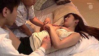 Innocent Japanese babe has to handle a hard missionary treatment