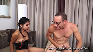 18 year old mexican gets her tight pussy fucked