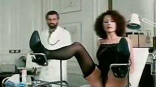 Richard Lemieuvre, Uschi Karnat, Catherine Greiner in vintage XXX scene