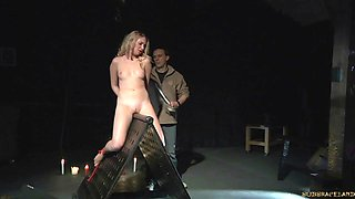 BDSM Teen Punished tied up in bondage Sex and kinky fuk