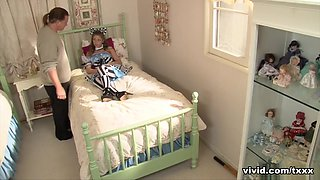 Sydney Cole in Petite teen Sydney Cole is punished for not following the rules - Vivid