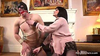 Mistress Madeline Reed Pegging