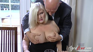 Boss came to his hot mature employee to seduce her and to fuck her hard