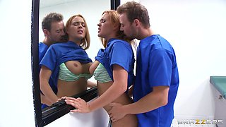 Nurse Gets Fucked In Front Of Everyone