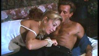 Moana Pozzin sex scene in Oltre i confini del sesso (1992)