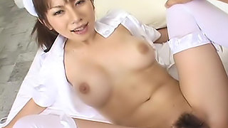 Aki Yatoh is a lovely Japanese nurse