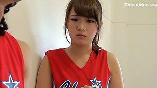 Crazy Japanese chick in Incredible Cheerleader, Teens JAV scene