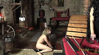 kitty in trouble - merciless czech domination on cat-guy
