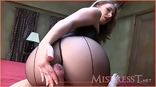 Nylon Footjob Movie