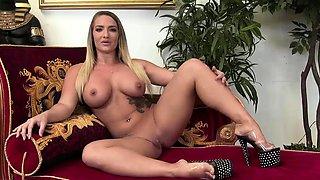 Horny girls take care of fat dicks