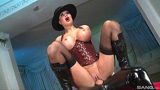Jasmine Jae is a horny mistress craving an erected cock