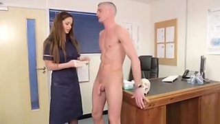 Clothed Cfnm Nurses Eating Cock