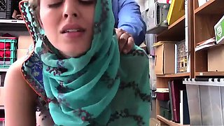 Thinks am still virgin Hijab-Wearing Arab Teen Harassed