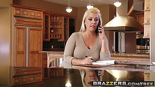 Katie Jordin Johnny Sins - I Stole Mamas Massage - Brazzers