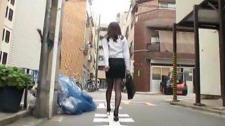Crazy Japanese model Emiri Seo in Horny Stockings, Dildos/Toys JAV movie