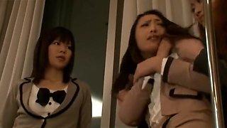 Asian Teacher Can't Resist Cute Schoolgirl