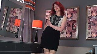 Mature German redhead
