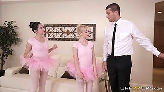 ballerina kenzie reeves foreplays with ramon