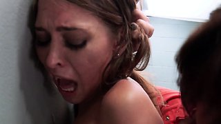 Busty mature lezdoms roughsex with petite Riley Reid