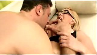 Saggy Tits Mommy Glasses Fucked
