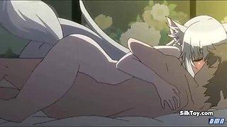 anime big tits cat girl having hardcore sex