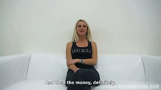 CZECH CASTING - First Porn Casting Horny Tereza (4316)