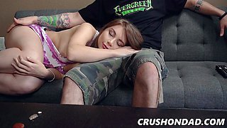Kayla Paris In Slurp And Sip My Nips Dad 1