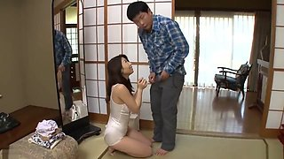 Husband cant resist cheating with Sister-in-law with Creampie