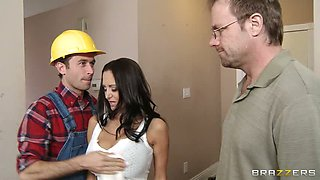 Married couple has invited builder. Great video