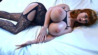 Redhead sex doll, blowjob anal deepthroat fantasies