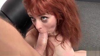 She's a redheaded rag doll
