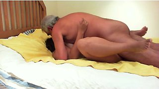 Homemade clip with me enjoying sex with my elderly boss