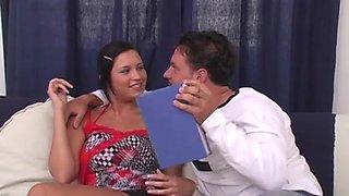 Camilla Krabbe and Sunny Jay enjoy a pussy and a dick