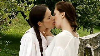 Hot Lesbians Kissing Compilation (Part 4)