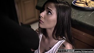 Pure taboo jaye takes bbc creampie to please fatherinlaw