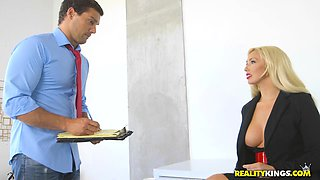 RealityKings - Big Tits Boss - Hyped And Horn