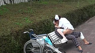 Incredible Japanese girl Mai Tsuruta in Crazy Outdoor, Nurse JAV clip
